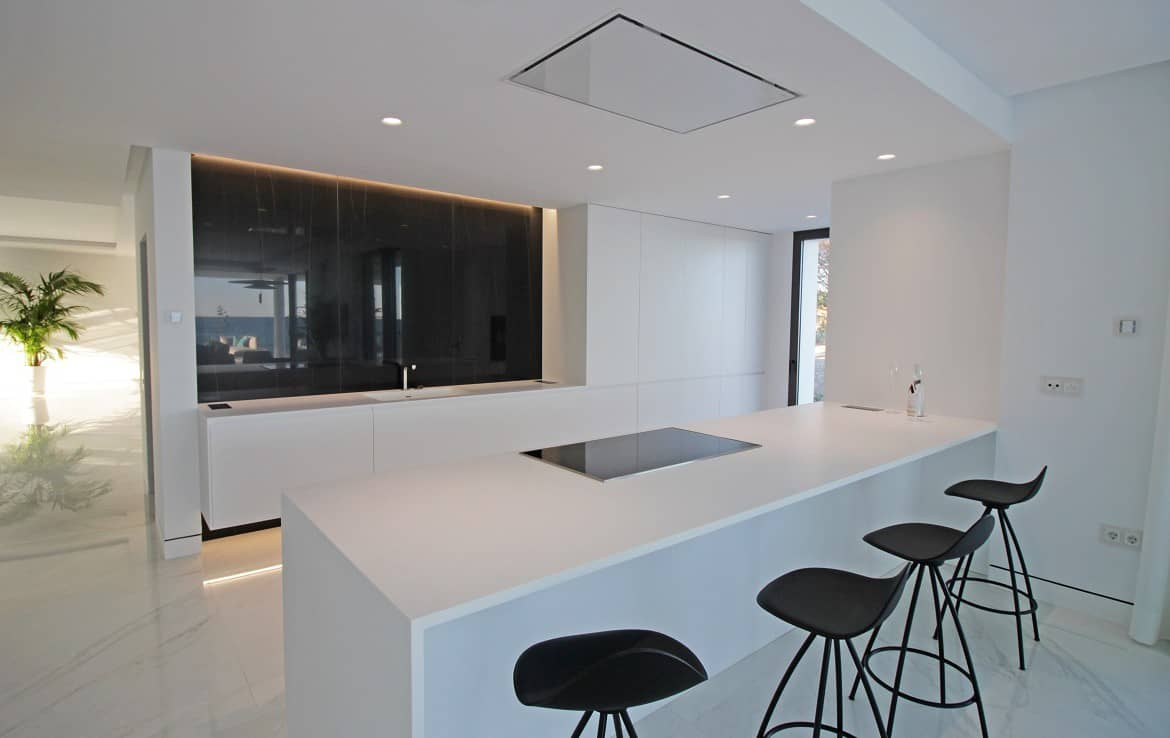 New Golden Mile beach front apartments fully equiped kitchen