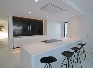 New-Golden-Mile-apartments-Marbella-fully-equiped kitchen