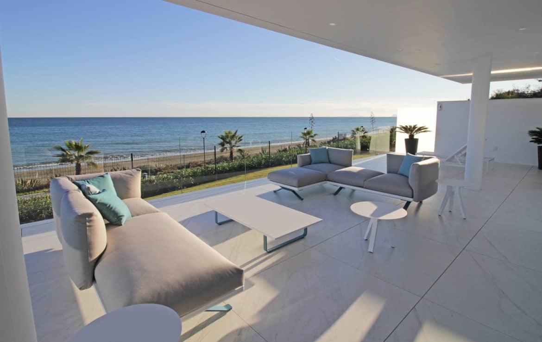 New Golden Mile Apartment with sea view - Estepona Marbella