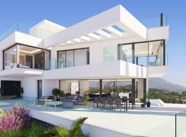 Villa te koop in prestigieuze wijk La Quinta bij Marbella, prachtige architectuur