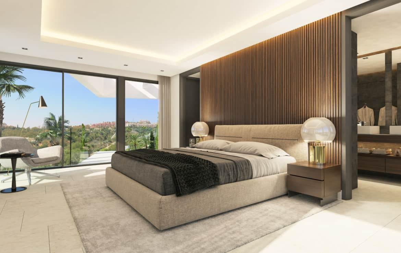 Villa te koop in prestigieuze wijk La Quinta bij Marbella, mooie zichten als u wakker wordt