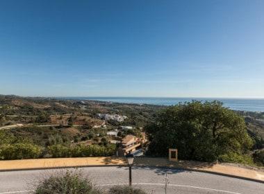 Marbella bouwgrond met zeezicht