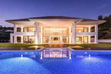 Te koop: unieke exclusieve villa met zeezicht La Zagaleta, Marbella